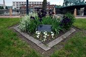 foto of terrorist  - A memorial in honor of the victims of the September 11 - JPG