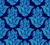 foto of hamsa  - seamless pattern with traditional hamsa element - JPG
