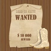 stock photo of cowboys  - Cowboy poster - JPG