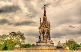 picture of kensington  - The Albert Memorial in Kensington Gardens  - JPG