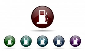 picture of petrol  - petrol icon gas station sign  - JPG