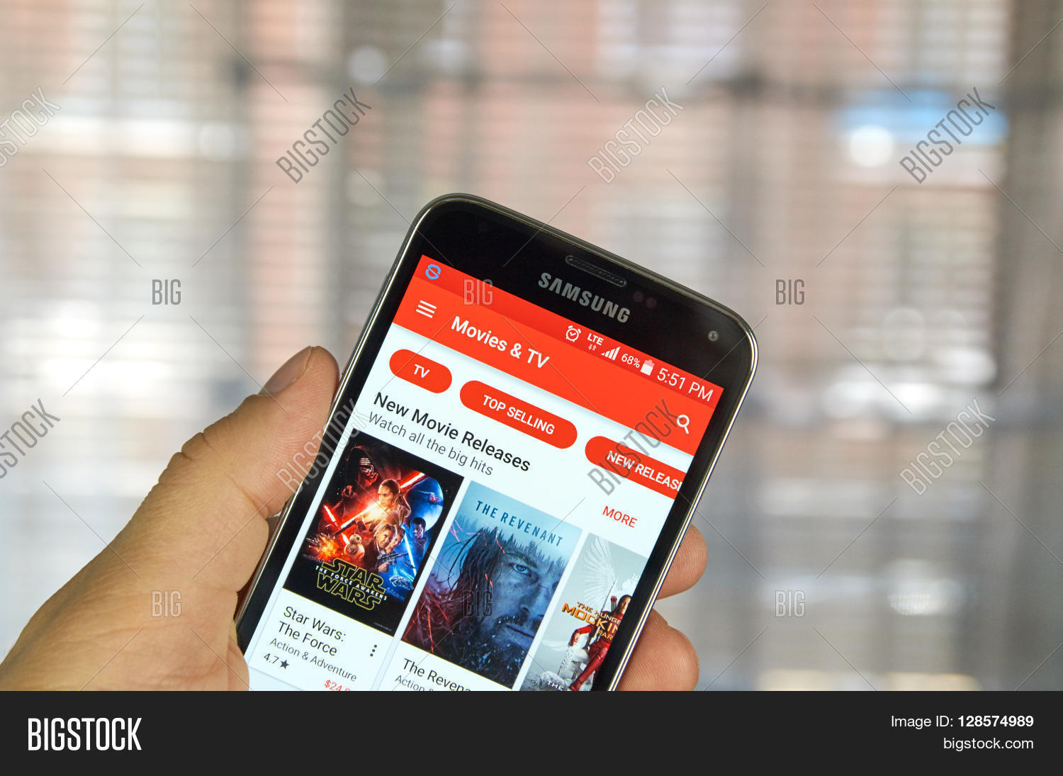 Phone How To Play Movies From Android Phone To Tv montreal canada april 5 2016 google play movies and tv on android phone