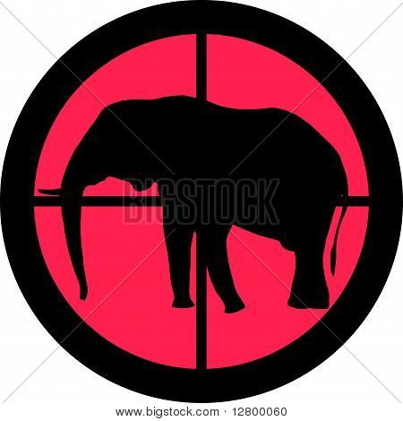 In The Scope Series - Elephant
