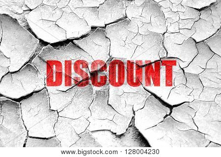 Grunge cracked discount sign background