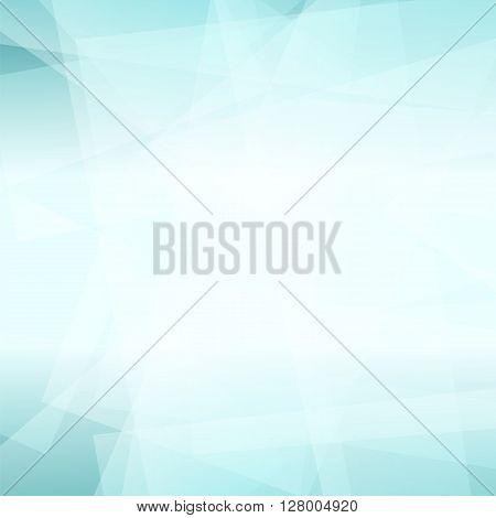 Abstract Azure Polygonal Background. Azure Geometric Pattern
