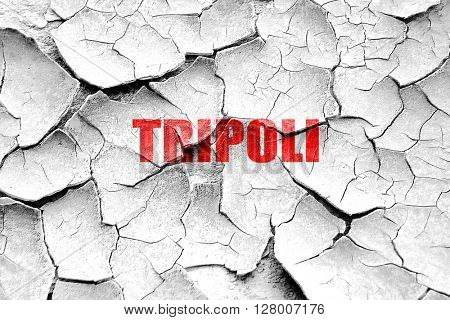 Grunge cracked tripoli