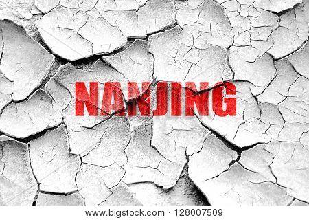 Grunge cracked nanjing