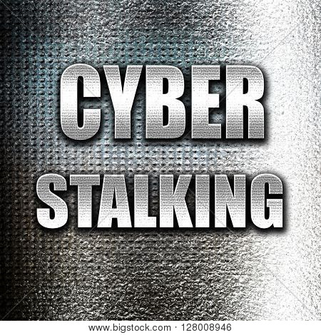 Cyber stalking background