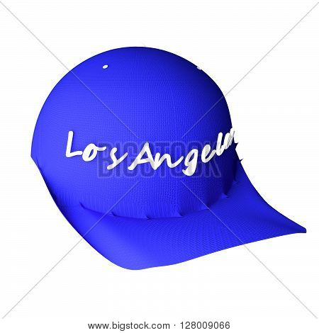 Baseball Hat With Words Los Angeles