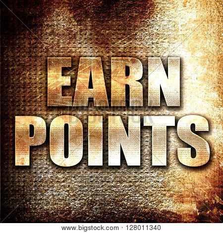 earn points