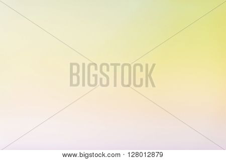 Abstract Yellow Soft Background With Gradient  Highlights