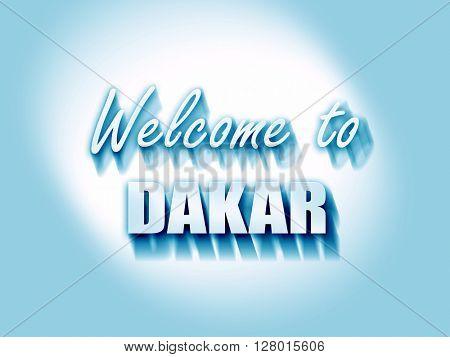 Welcome to dakar