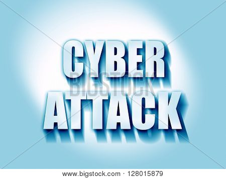 Cyber attack background