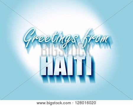Greetings from haiti
