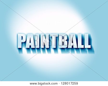 paintball sign background