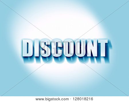 discount sign background