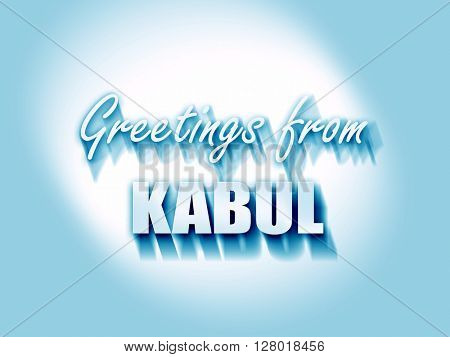 Greetings from kabul