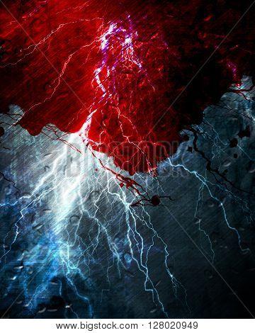 Blood on Grunge background