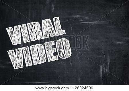 Chalkboard writing: viral video