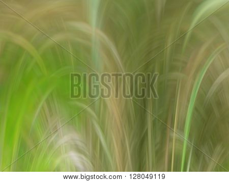 Abstract background in green and yellow tones