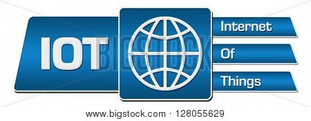 IOT - Internet Of Things concept image with symbol.