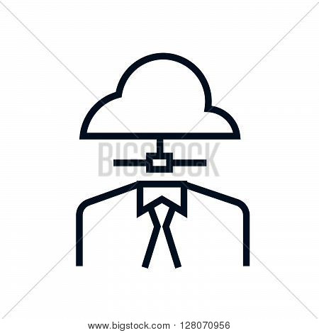 Outsource, Cloud Icon