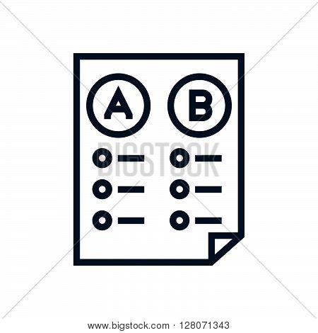 Split Test Icon