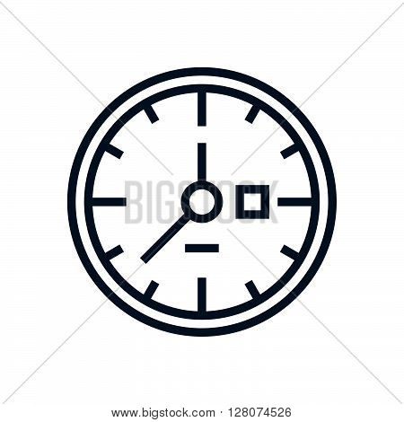 Clock, Work Hours Icon