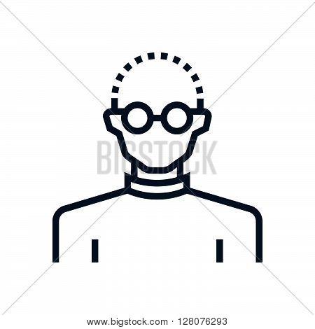 Businessman, Programmer Icon