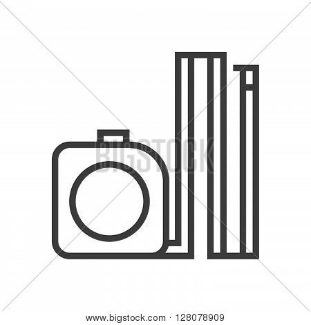 Meter Tape Icon