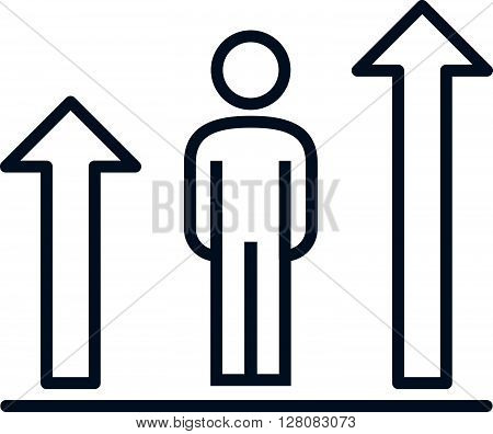 Ranking, Growth Icon
