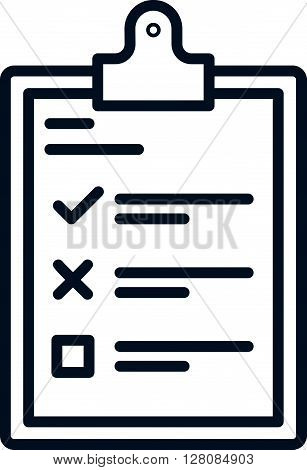 Survey To Do List Icon