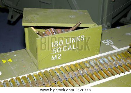 50 Caliber Bullets