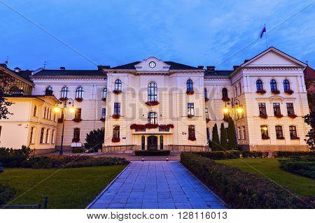 City Hall in Bydgoszcz. Bydgoszcz Kuyavian-Pomeranian Poland.