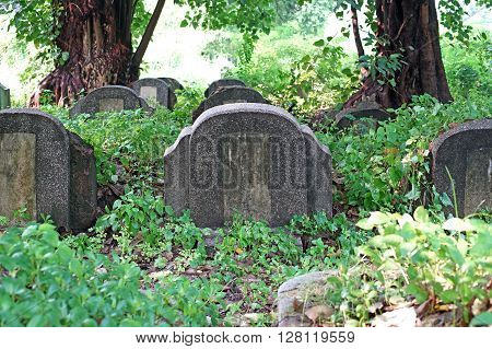 Old Tombstones And Graveyards