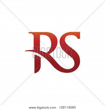 letter R and S , RS,SR,letter S, letter R logo