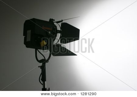 Studio Film And Video Lamp Silhouette