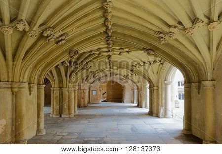 The Chapel Undercroft Lincolns Inn London