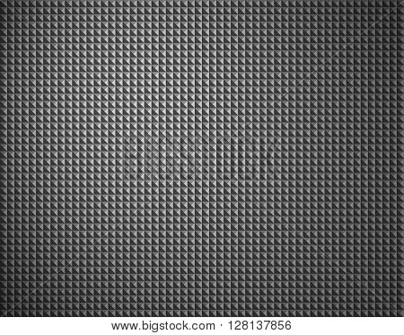 Black and grey background with bubble structure