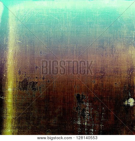 Art vintage texture for background in grunge style. With different color patterns: yellow (beige); brown; green; blue; purple (violet); cyan