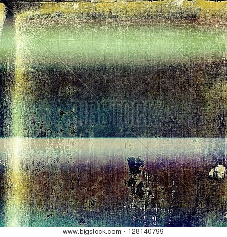Retro style texture for your layouts. Grunge background with different color patterns: yellow (beige); brown; gray; green; blue; purple (violet)
