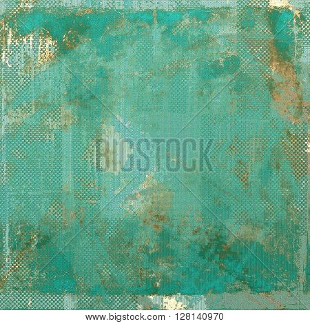 Elegant vintage background, antique texture. Designed grunge template with different color patterns: yellow (beige); brown; gray; blue; cyan