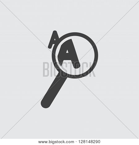 Loupe icon illustration isolated vector sign symbol