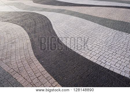 Modern pavement texture. Abstract textured background.