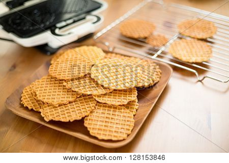 Pizzelle waffle