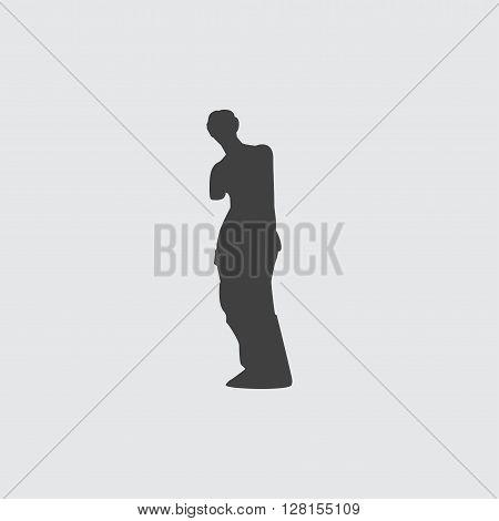 Venus de Milo icon illustration isolated vector sign symbol