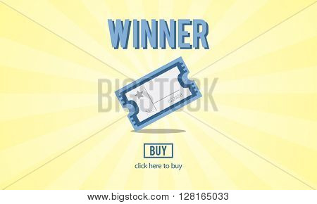 Winner Competition Successful Victory Concept