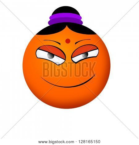 Indian smiley