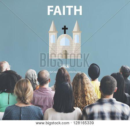 Faith Ideas Imagine Inspiration Mindset Trust Concept