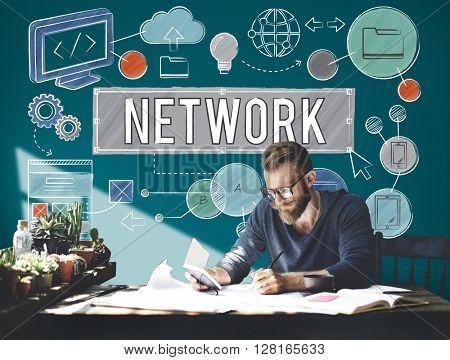 Network Connection Internet Online Technology Concept